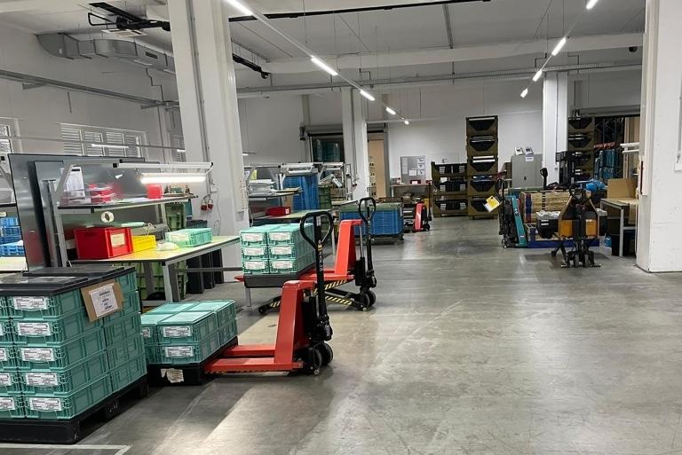 FOCUSON Werks- und Logistikhalle in Eberstalzell